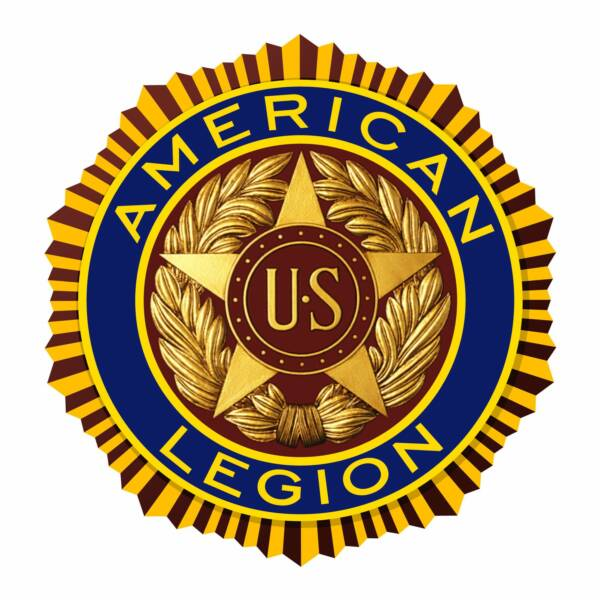 AmerLegion color Emblem op 600x600